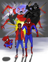 Spider-Man: Into the Spiderverse by Fredski167