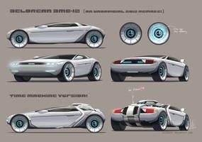 Delorean DMC-12 unofficial 2012 concept