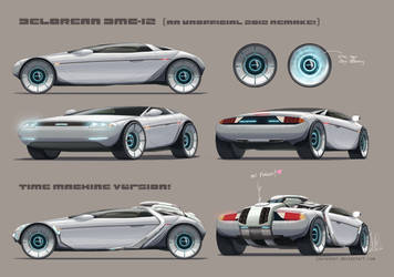 Delorean DMC-12 unofficial 2012 concept by joulester