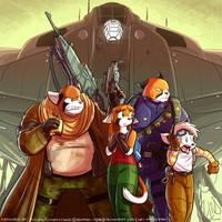 Fanart of SHARK-008's webcomic 'Uzi'