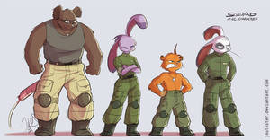 Battalion misfits