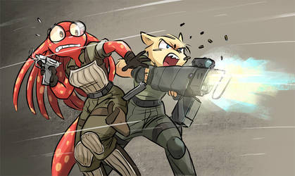I'm Out, Sarge! by joulester