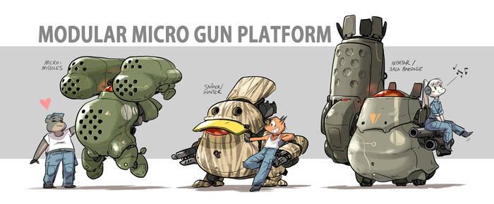 Modular Micro Gun Platform