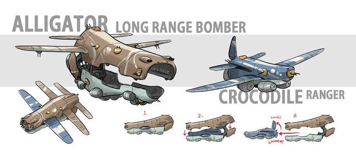 Alligator Bomber