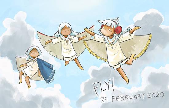 Fly again!