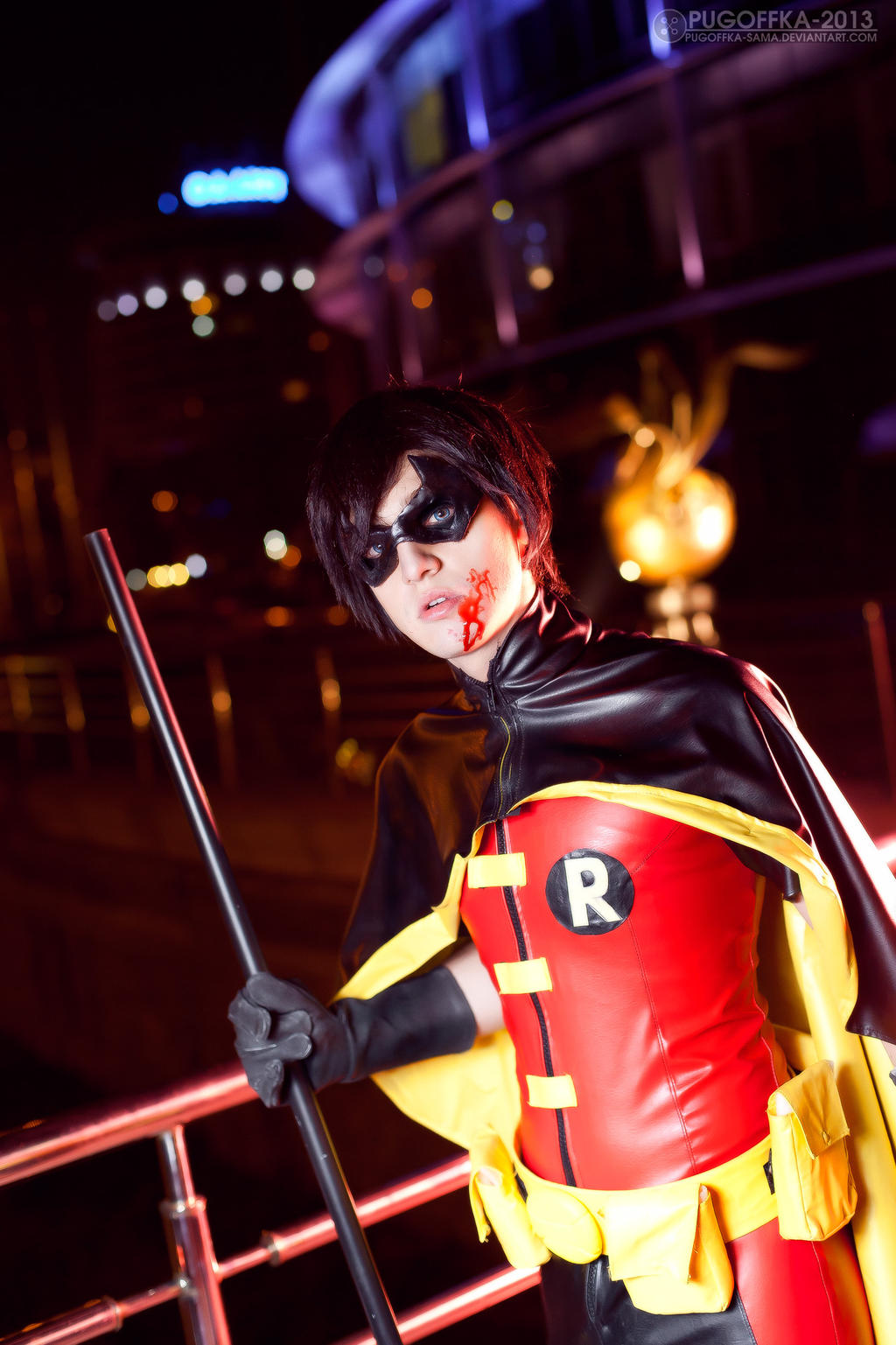 Young Justice - Robin 2 by AmethystPrince
