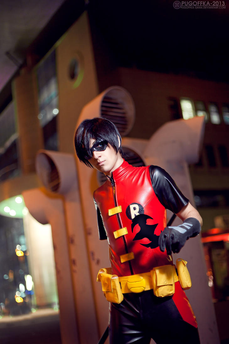 Young Justice - Robin 4 by AmethystPrince