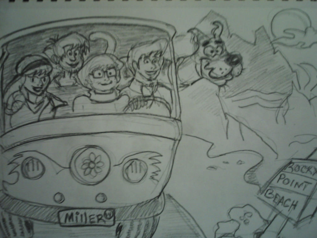 repost of scooby doo and the gang by desertdogg2006