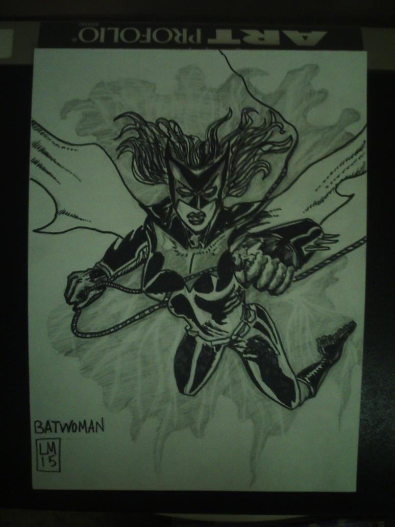 batwoman  by l.miller by desertdogg2006