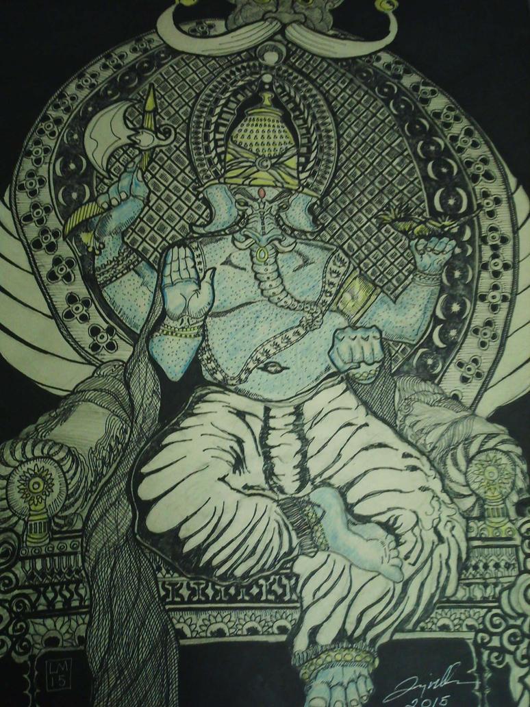 ganesh the god. by larry miller by desertdogg2006