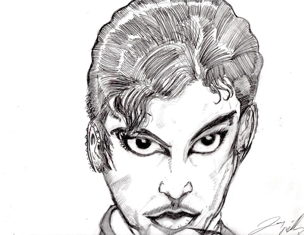 Prince head shot. close up by desertdogg2006