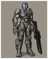 Power Armour by Zerahoc