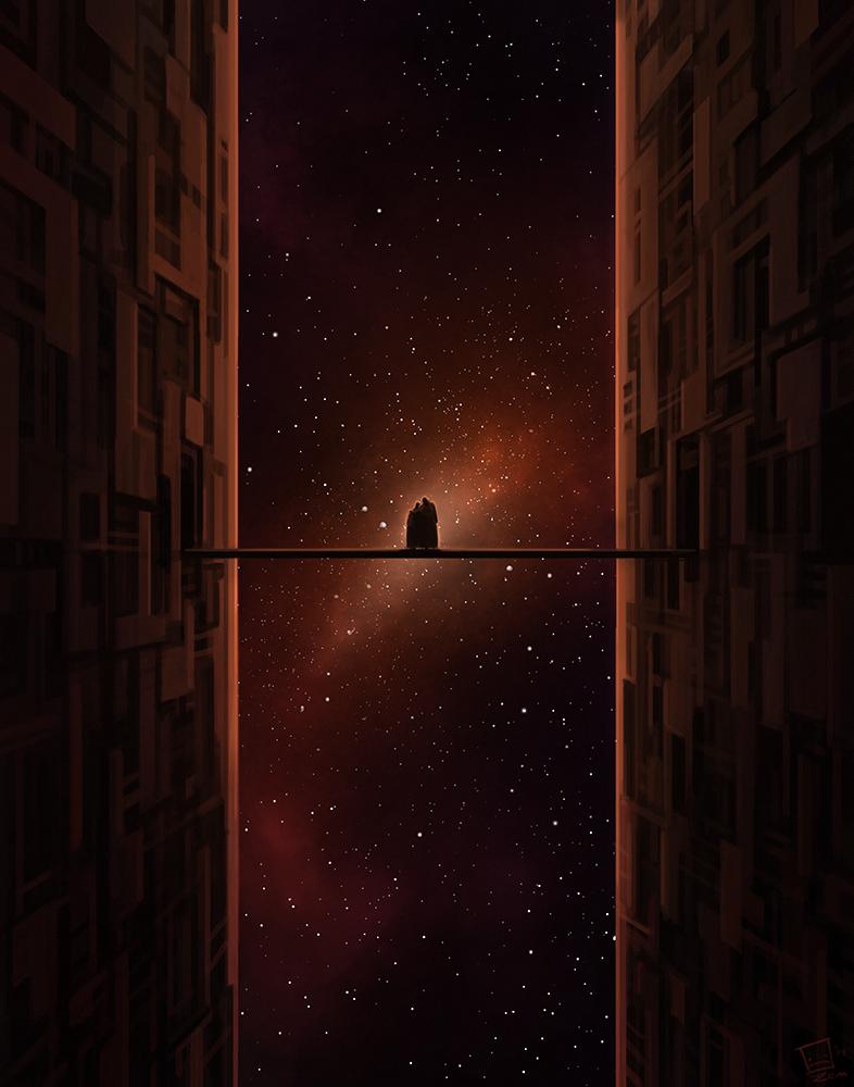 Lonely Stars by Zerahoc