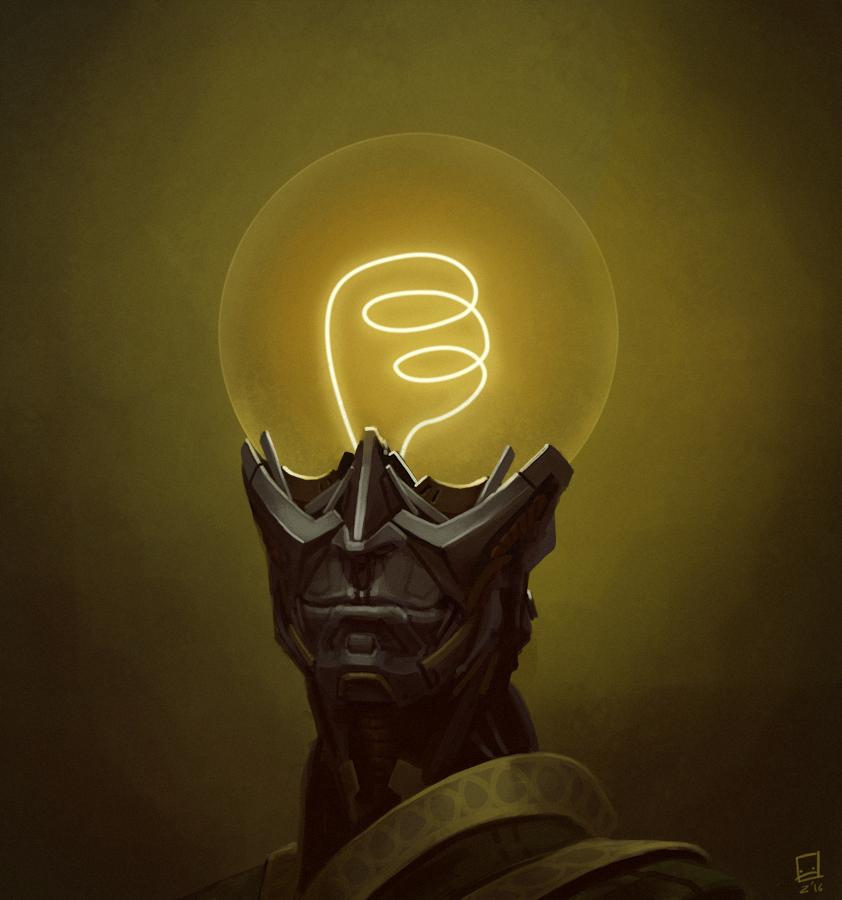A Man with Ideas by Zerahoc