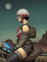 Speederbiker by Zerahoc