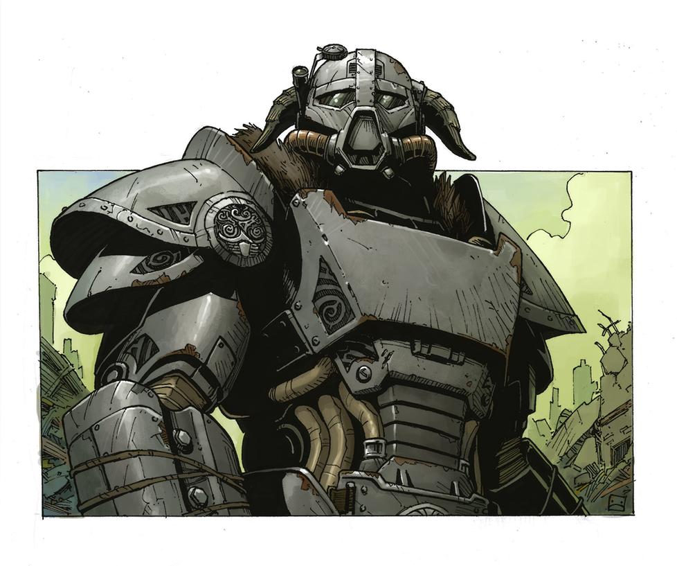 Dragonborn of Steel by Zerahoc