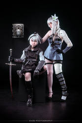 Kaine and Nier