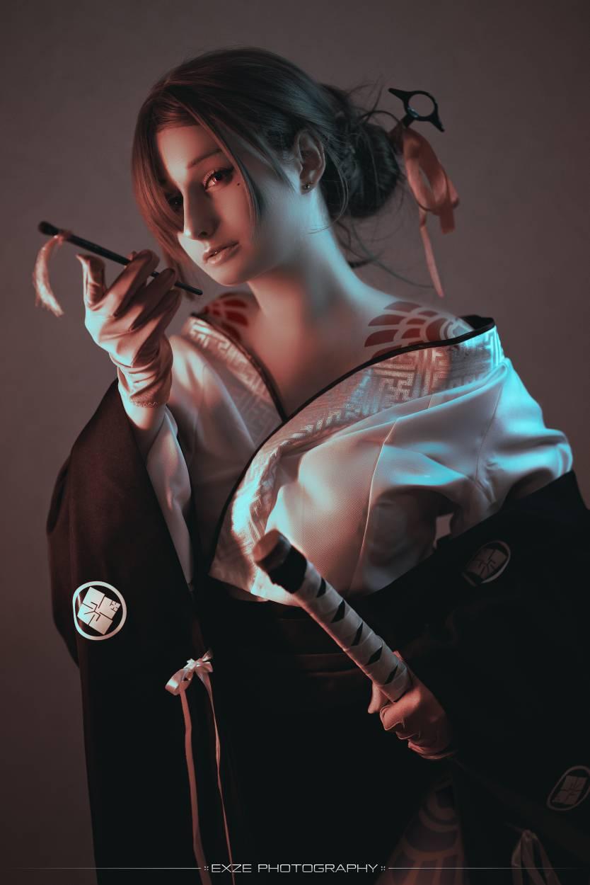 Akeha from NieR: Reincarnation cosplay