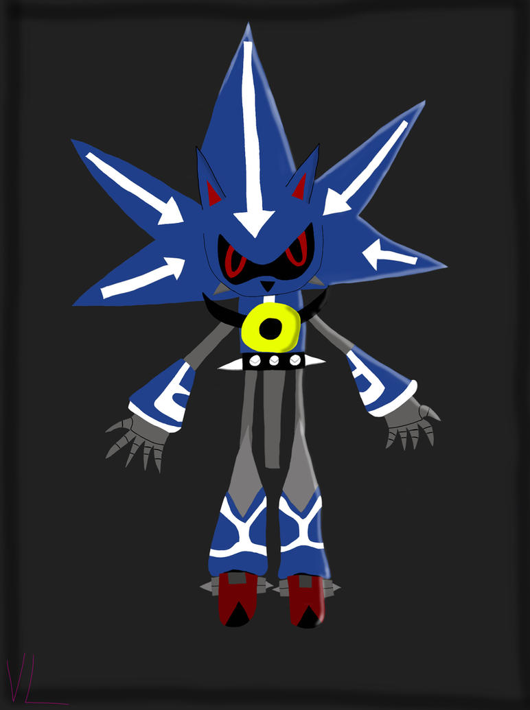 Neo Metal Sonic by DarkEye5000