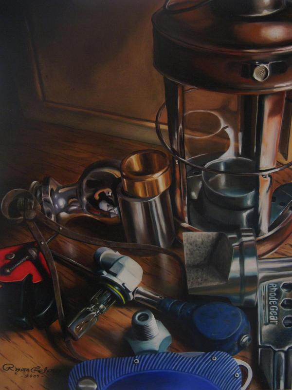 Trumpe'loeil Still Life Study by RyanXR1