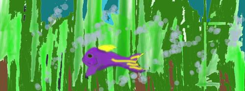 Lone Fish