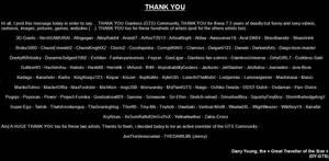 Thank You Giantess (GTS) Community