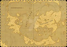 Nameless World Map