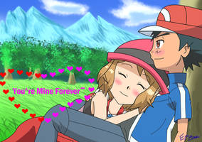 Happy Valentine's - Amourshipping by Raion-x