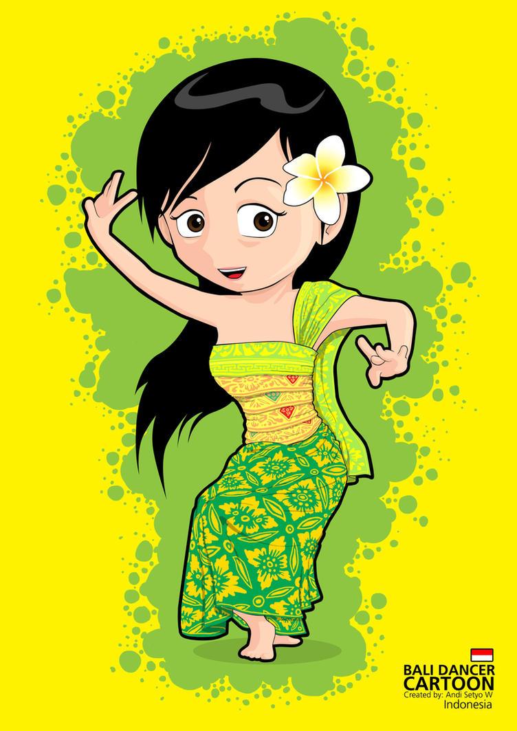 Bali Dancer Cartoon By Openlite On Deviantart