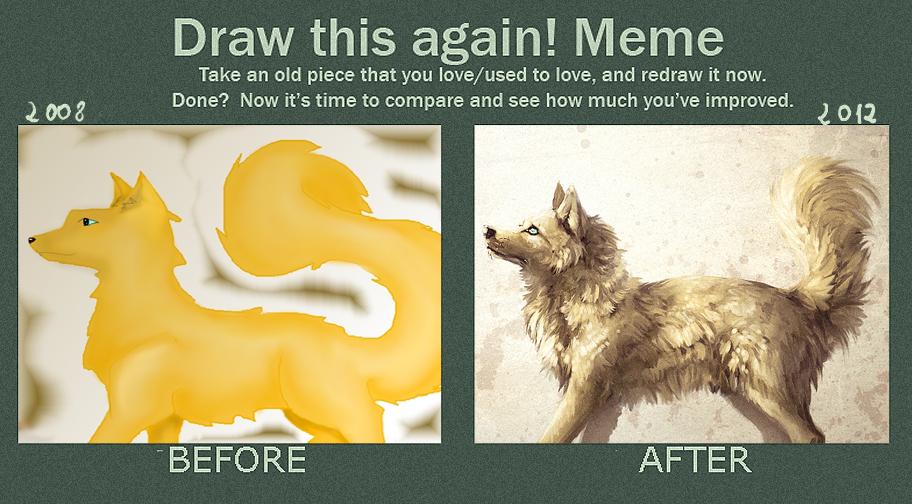 Meme: draw this again. by Safiru