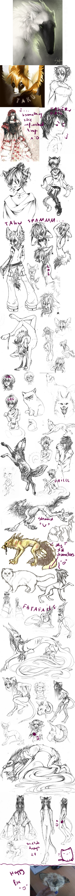 Sketch dump 21. by Safiru