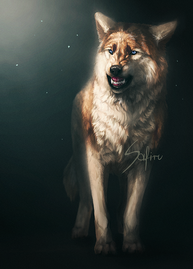 Angry. by Safiru