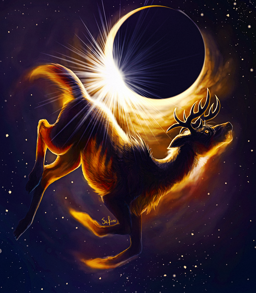 The eclipse. by Safiru