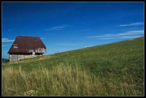 Uphill by villewilson