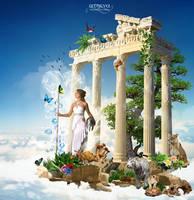 .Athena. by VermilionX