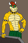 Muscle Bowser 3