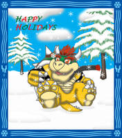 Holiday Bowser by nokamarau