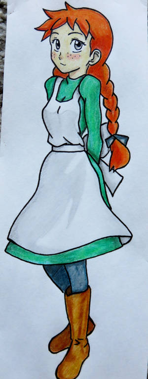 Lampshade Drawing #51 - Akage no Anne
