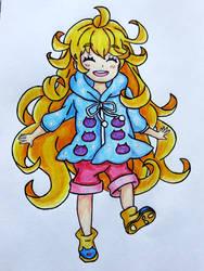 Lampshade Drawing #56 - Tsumugi