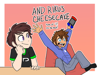 Cheesecaaake by Gell-pen