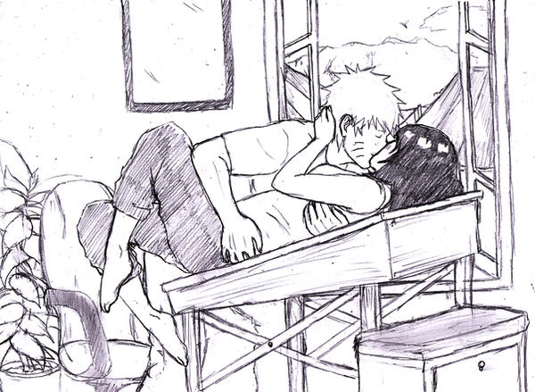 naruhina: at home... by rakerumcr