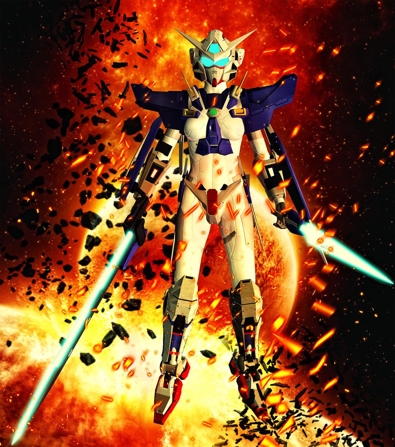 Exia Gundam Archclan EvilEliot