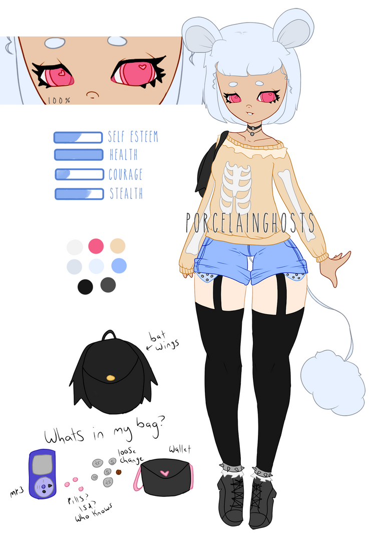 Character Giveaway Thanks For 100 Closed By Porcelainghosts On Deviantart