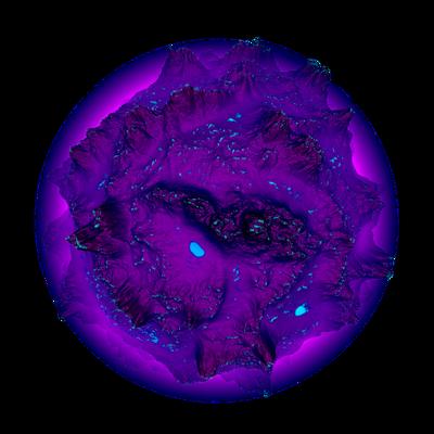 Asteroid Meteor Deep Purple | Space SciFi Stock