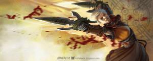 Diablo III Monk by Softshack