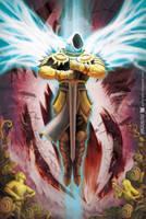 Tyrael: Liberator of Sanctuary by Softshack