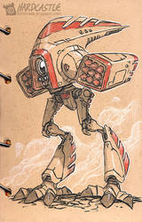 Hardcastle-rooster Mech by Softshack