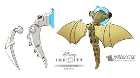 Disney Infinity mynock by Softshack