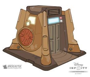 Disney Infinity droid repair by Softshack