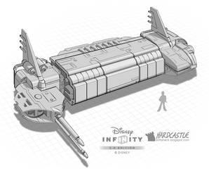 Disney Infinity transport by Softshack